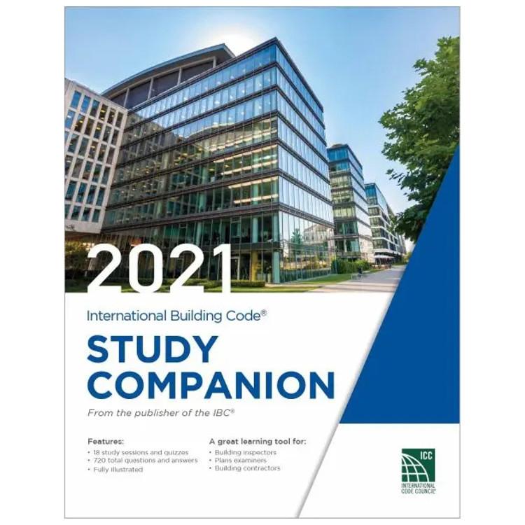2021 International Building Code Study Companion - ISBN#9781955052221