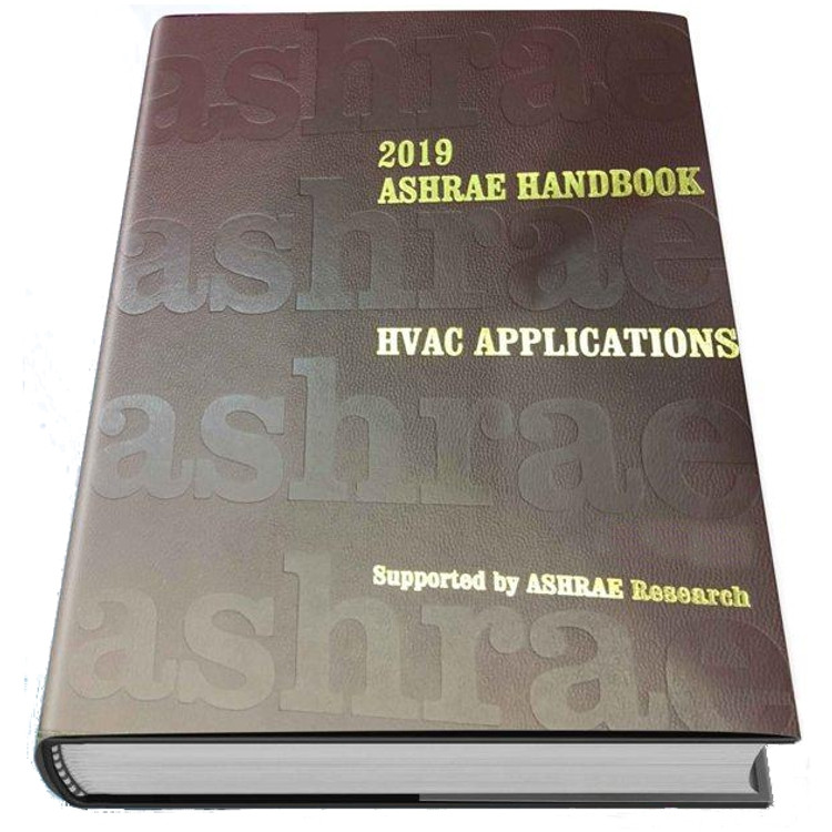 2019 ASHRAE Handbook - HVAC Applications - ISBN#9781947192126