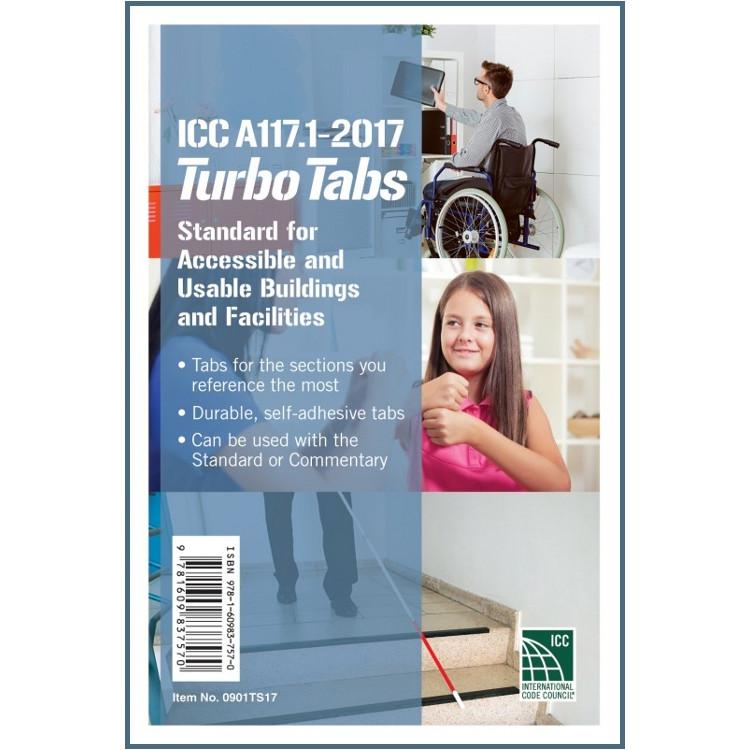 ICC A117.1-2017 Turbo Tabs - ISBN#9781609837570