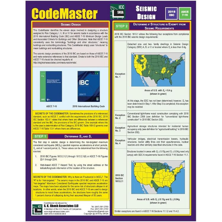 CodeMaster Seismic Design : ISBN#9781936039388