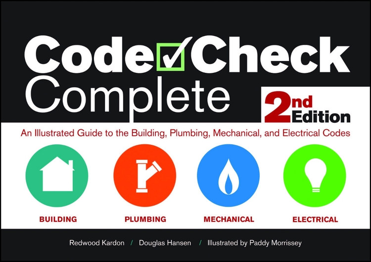 Code Check Complete 2nd Edition - ISBN#9781600854934