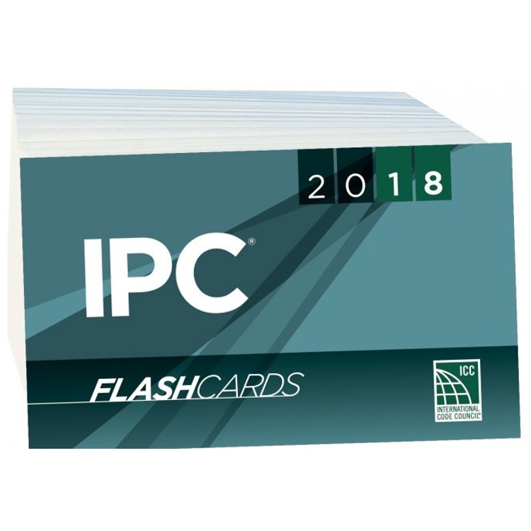 2018 IPC Flash Cards - ISBN#9781609838140
