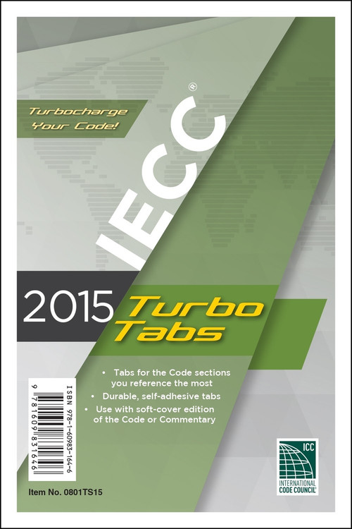 2015 IECC Turbo Tabs - ISBN#9781609831646