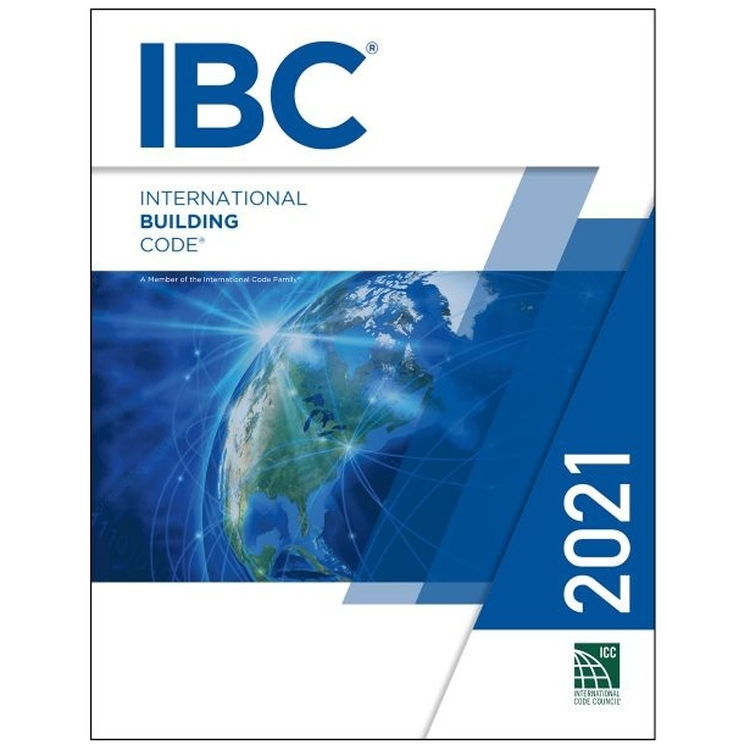 2021 International Building Code - ISBN#9781609839550