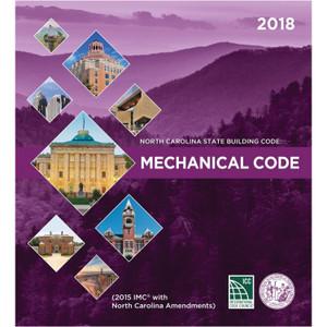 North Carolina State Building Code Mechanical Code 2018