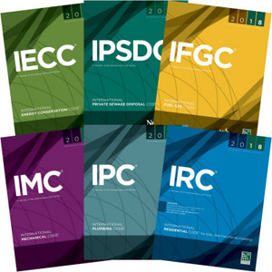2018 International Codes Plumbing And Hvac Collection
