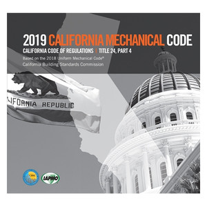 2016 California Mechanical Code Title 24 Part 4