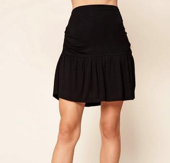 Embry Ruched Mini Skirt