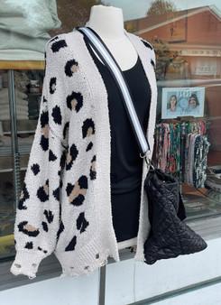 Leopard Cozy Cardigan