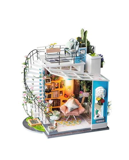 DIY Miniature Dollhouse Kit