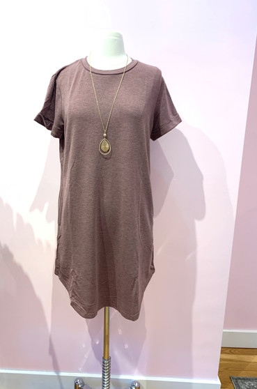 T shirt Dress with Pockets