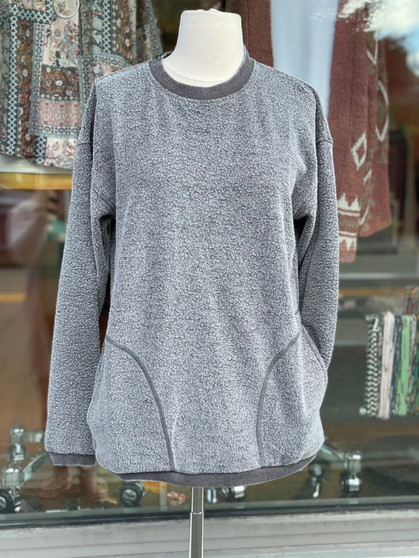 Fuzzy Mineral Pullover