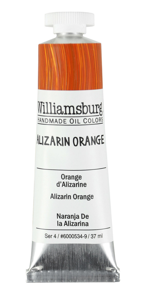 Williamsburg Alizarin Orange Oil Colour