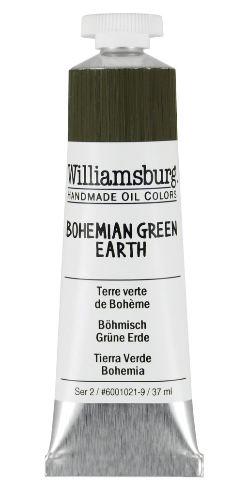 Williamsburg Bohemian Green Earth Oil Colour