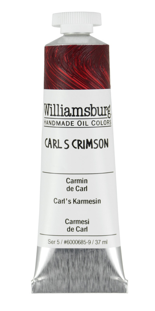 Williamsburg Carl's Crimson Oil Colour