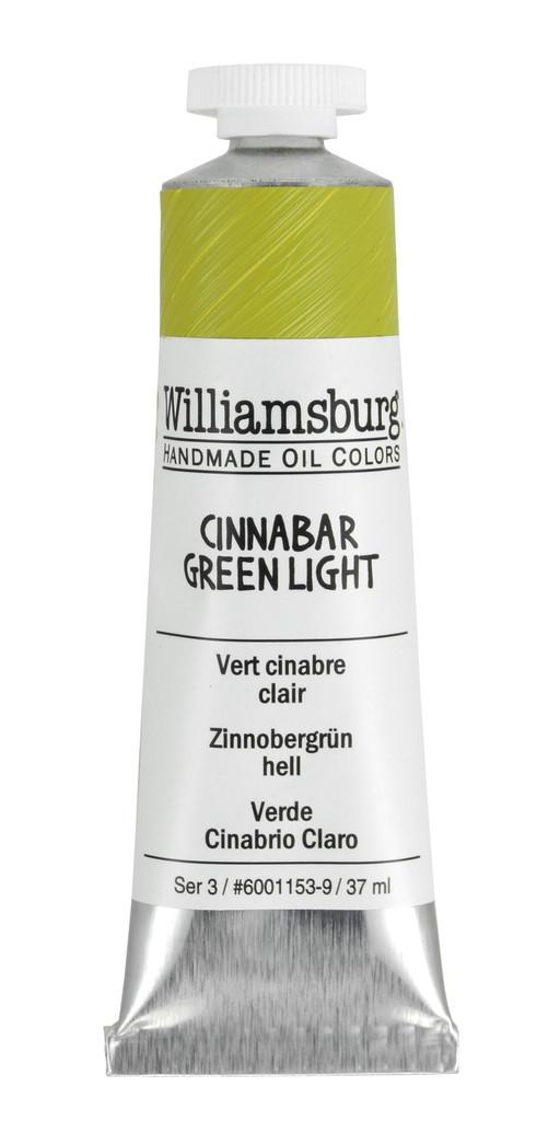 Williamsburg Cinnabar Green Light Oil Colour