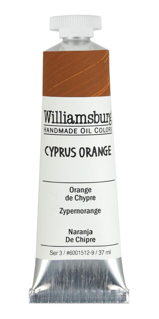 Williamsburg Cyprus Orange Oil Colour