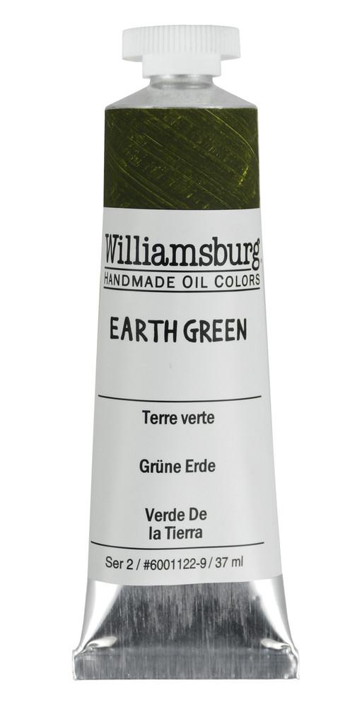 Williamsburg Earth Green Oil Colour
