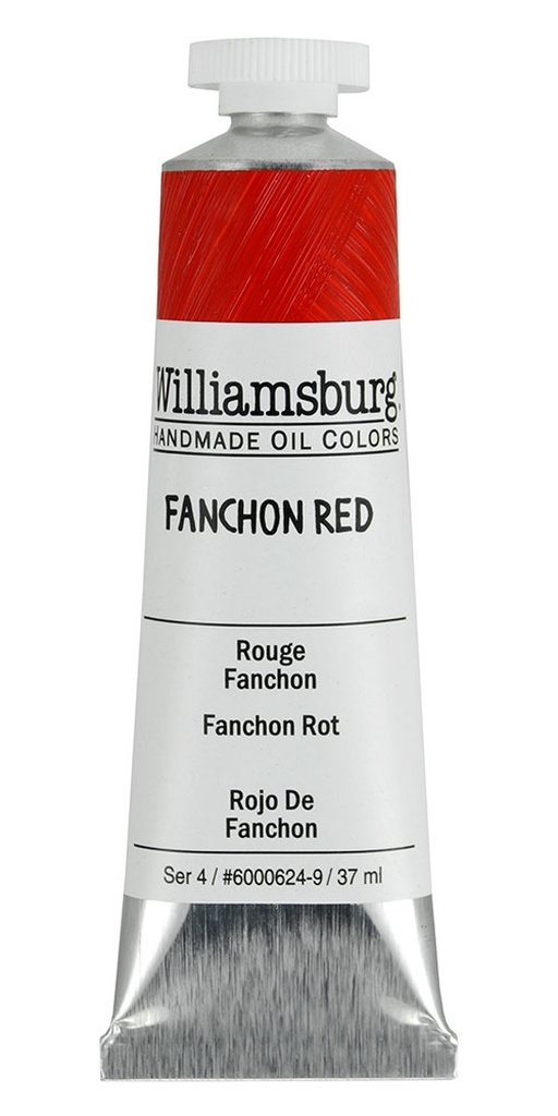 Williamsburg Fanchon Red Oil Colour