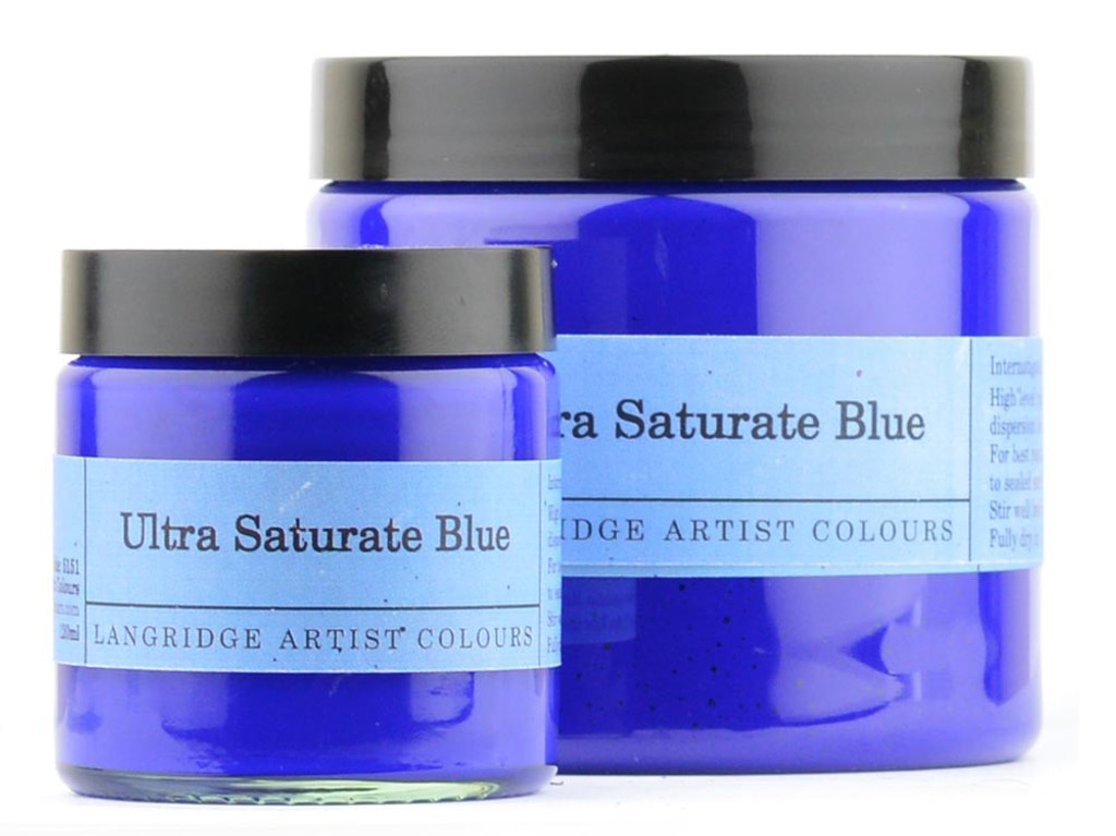 Ultra Saturate Blue Acrylic