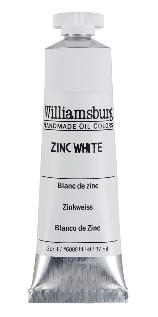 Williamsburg Zinc White Oil Colour