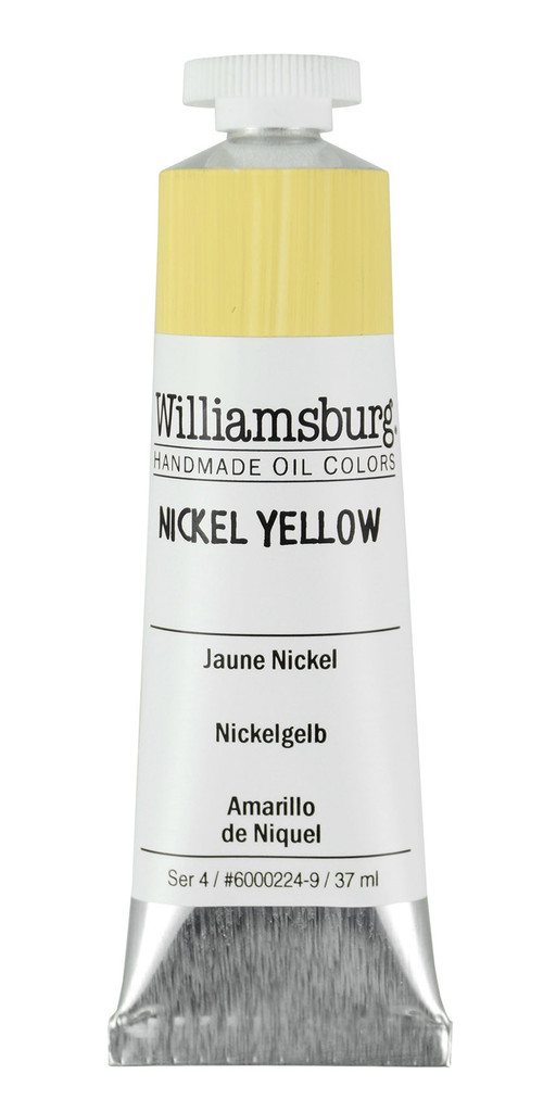 Williamsburg Nickel Yellow Oil Colour