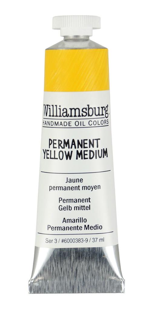 Williamsburg Permanent Yellow Medium Oil Colour