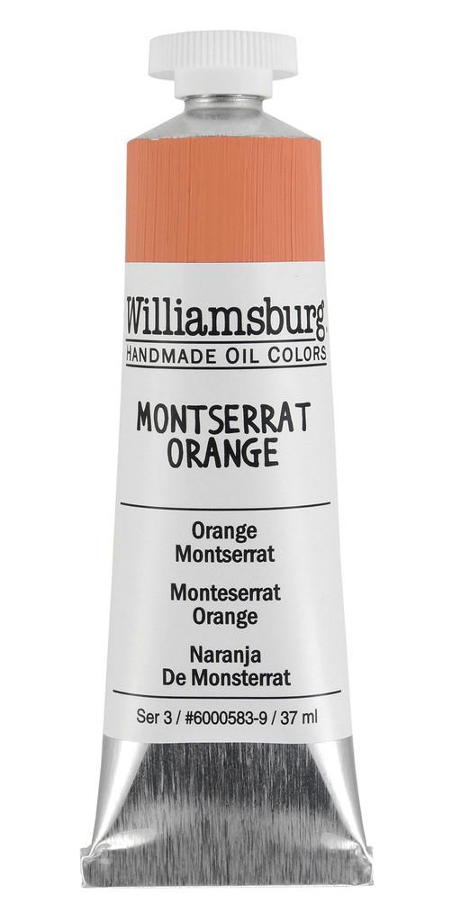 Williamsburg Montserrat Orange Oil Colour