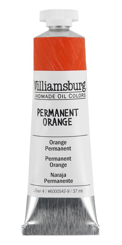 Williamsburg Permanent Orange Oil Colour