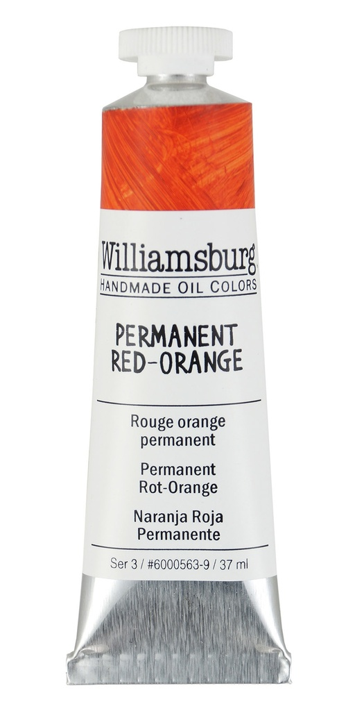 Williamsburg Permanent Red-Orange Oil Colour