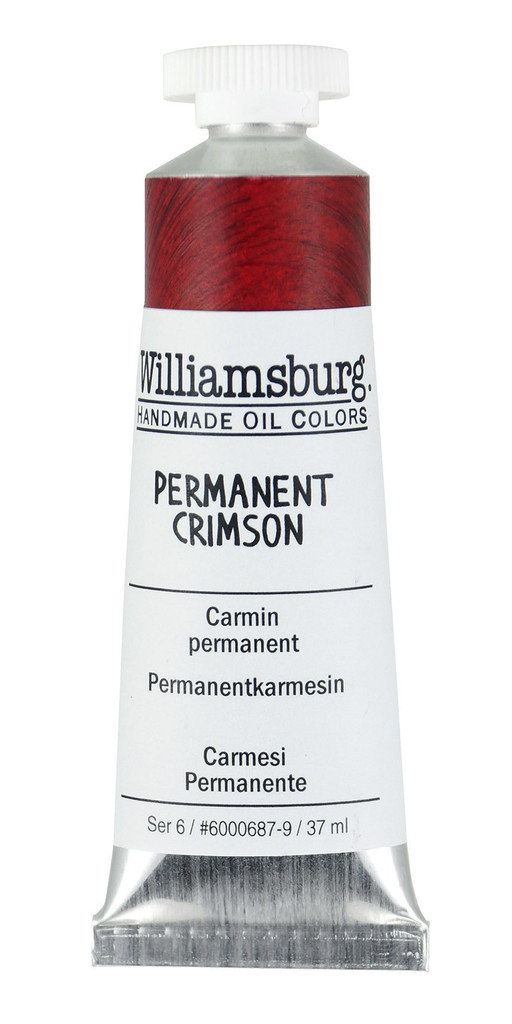 Williamsburg Permanent Crimson Oil Colour