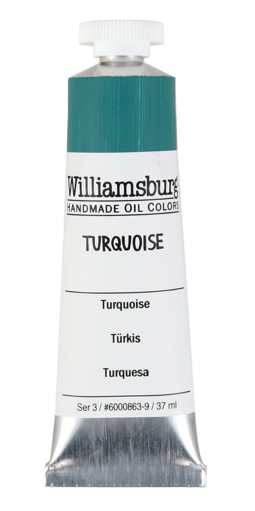 Williamsburg Turquoise Oil Colour