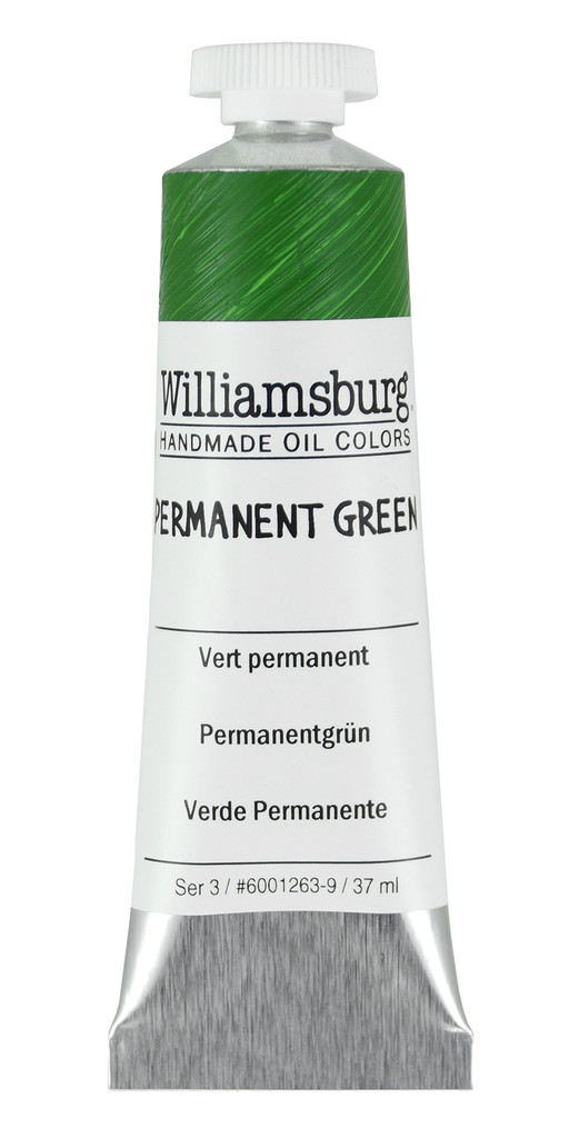 Williamsburg Permanent Green Oil Colour