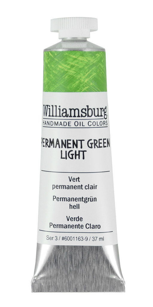 Williamsburg Permanent Green Light Oil Colour