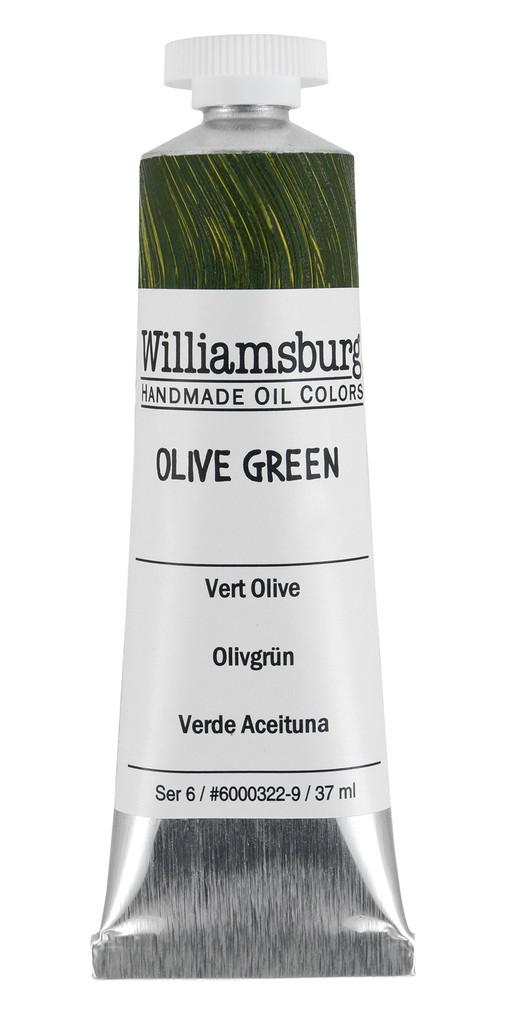 Williamsburg Olive Green Oil Colour