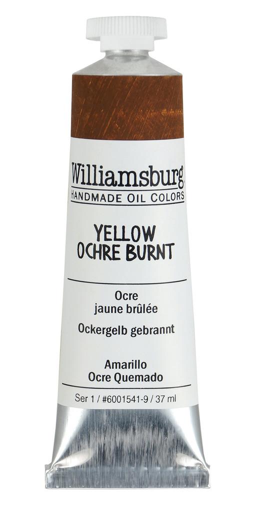 Williamsburg Yellow Ochre Burnt Oil Colour