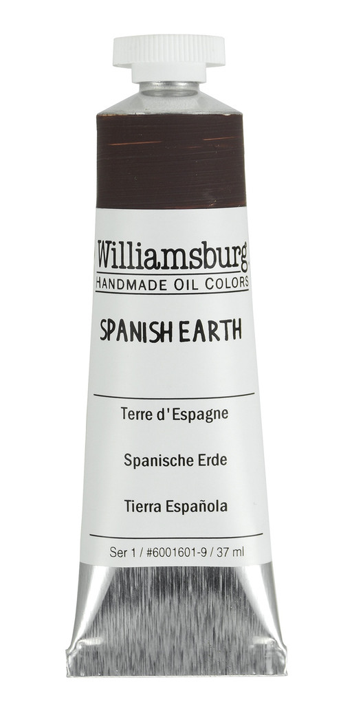 Williamsburg Spanish Earth Oil Colour