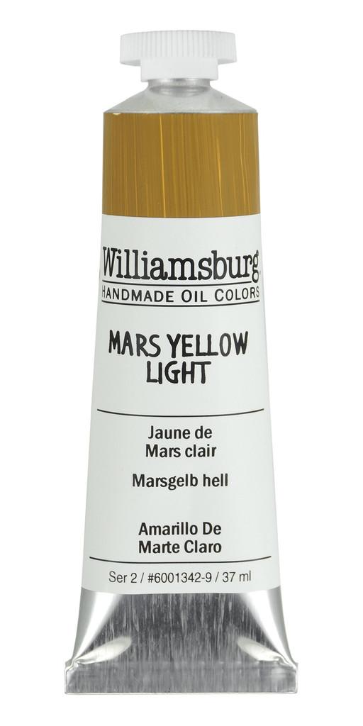 Williamsburg Mars Yellow Light Oil Colour