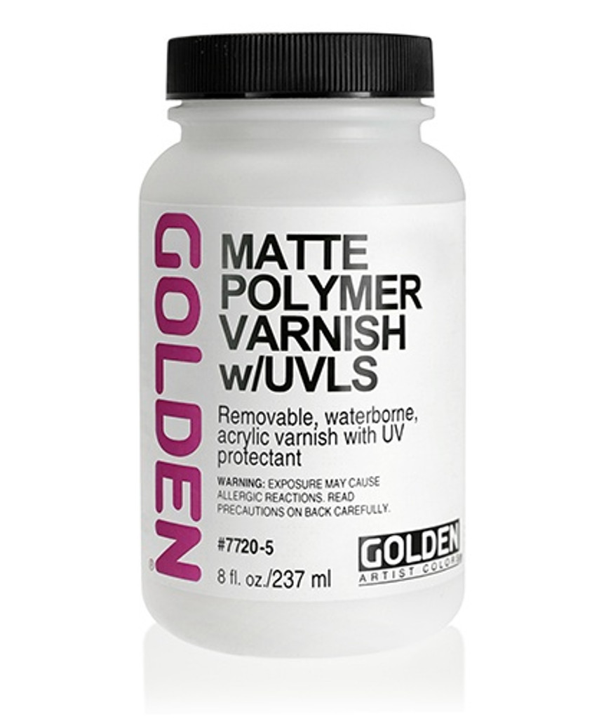 Matte Polymer Varnish (w/UVLS)