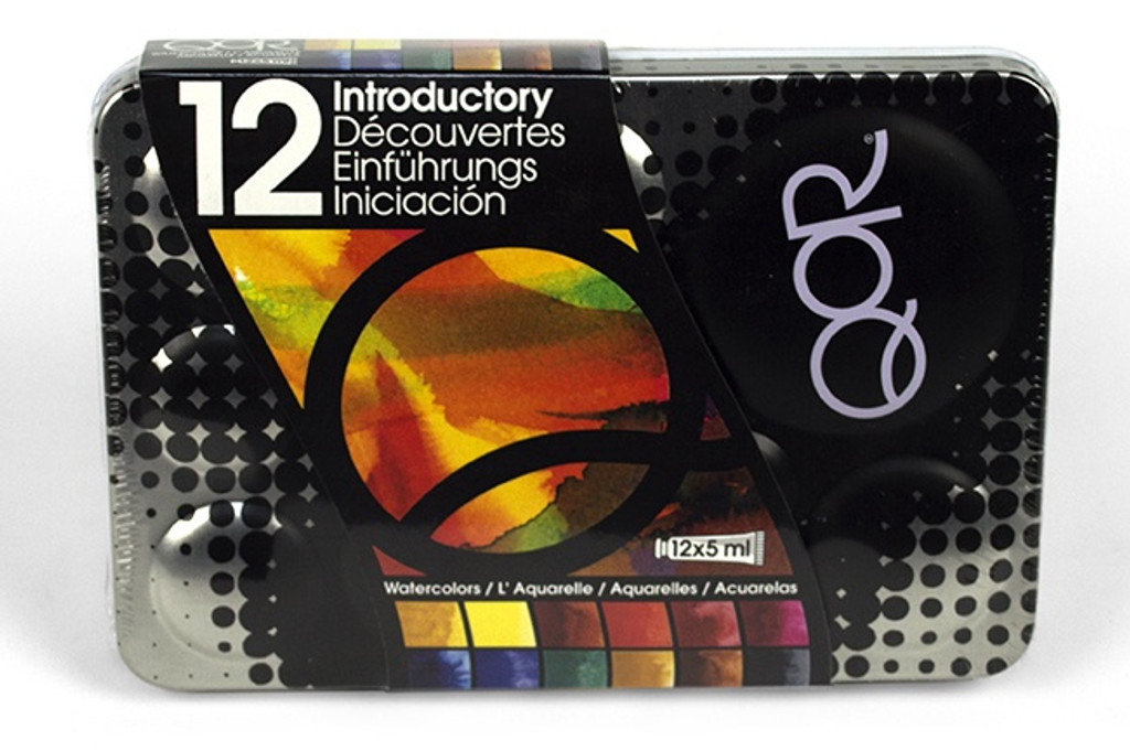QoR Watercolour Introductory 12 Colour Set
