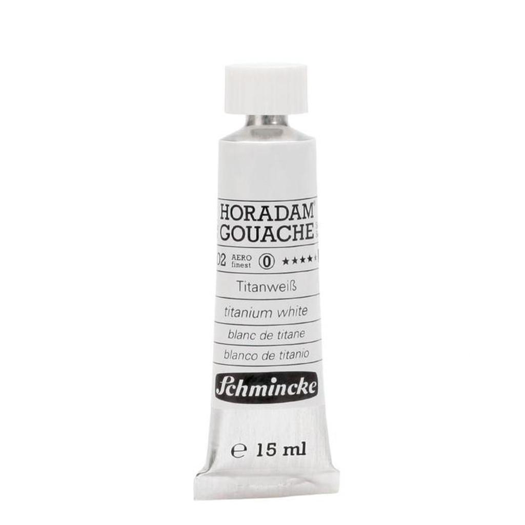 Titanium White Horadam Gouache 15ml