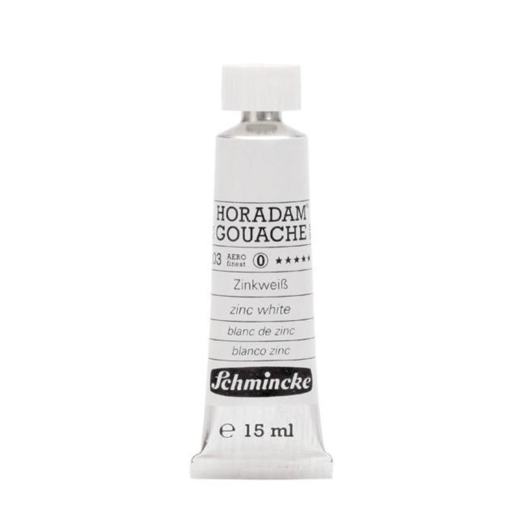 Zinc White Horadam Gouache 15ml