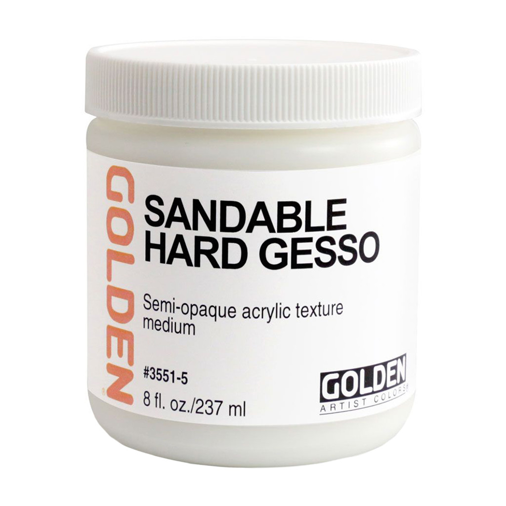 Sandable Hard Gesso