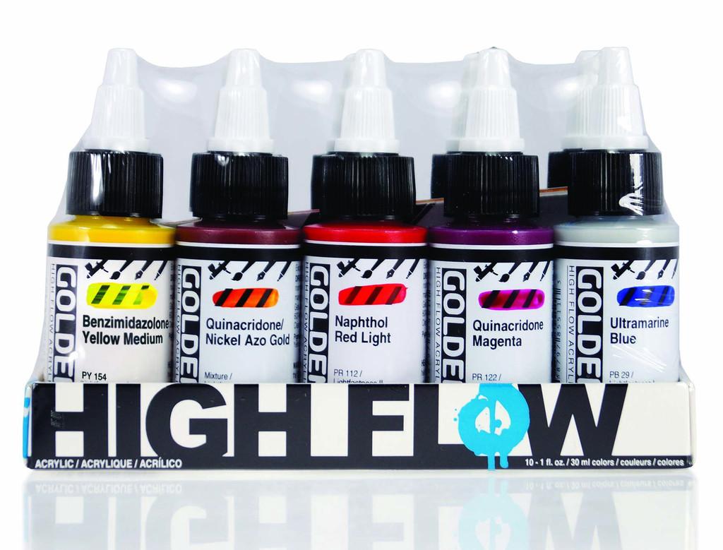 High Flow 10 Colour Set