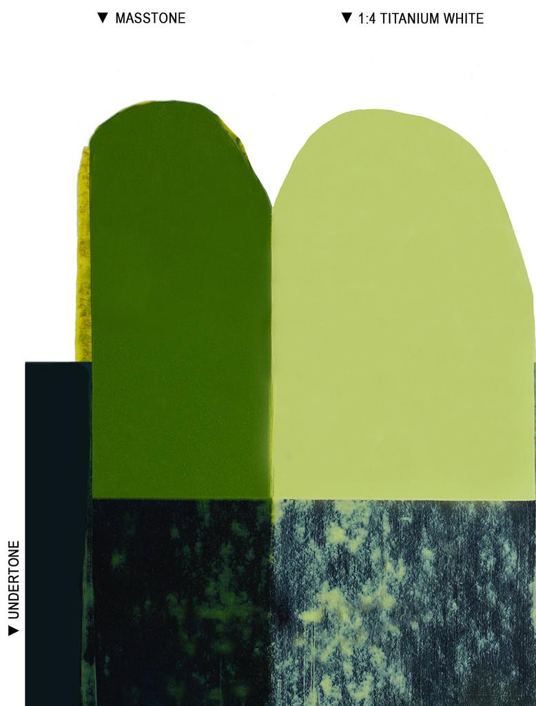 Langridge Green Gold Oil Colour