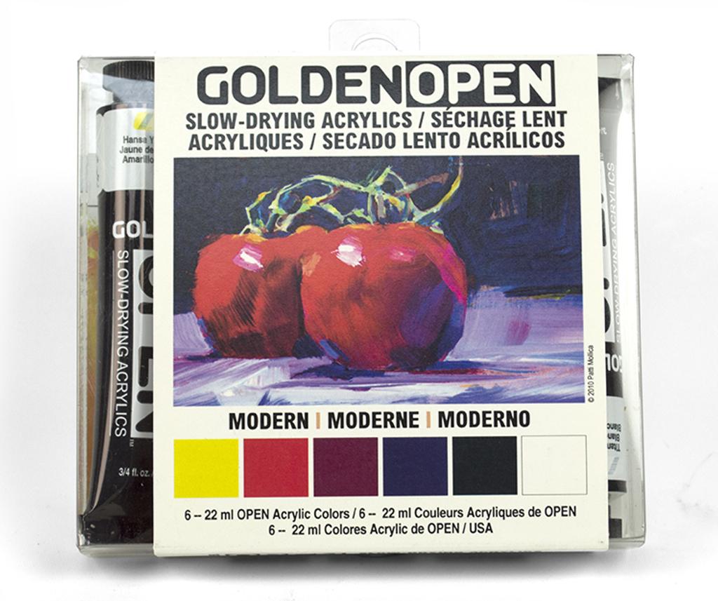 OPEN Acrylic Introduction Set - Modern