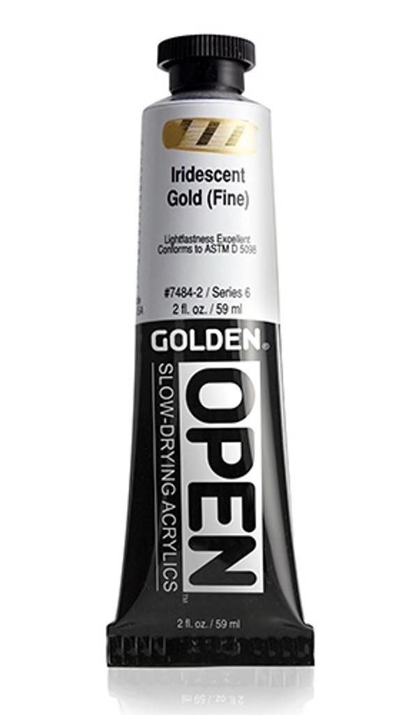 OPEN Iridescent Gold (Fine)