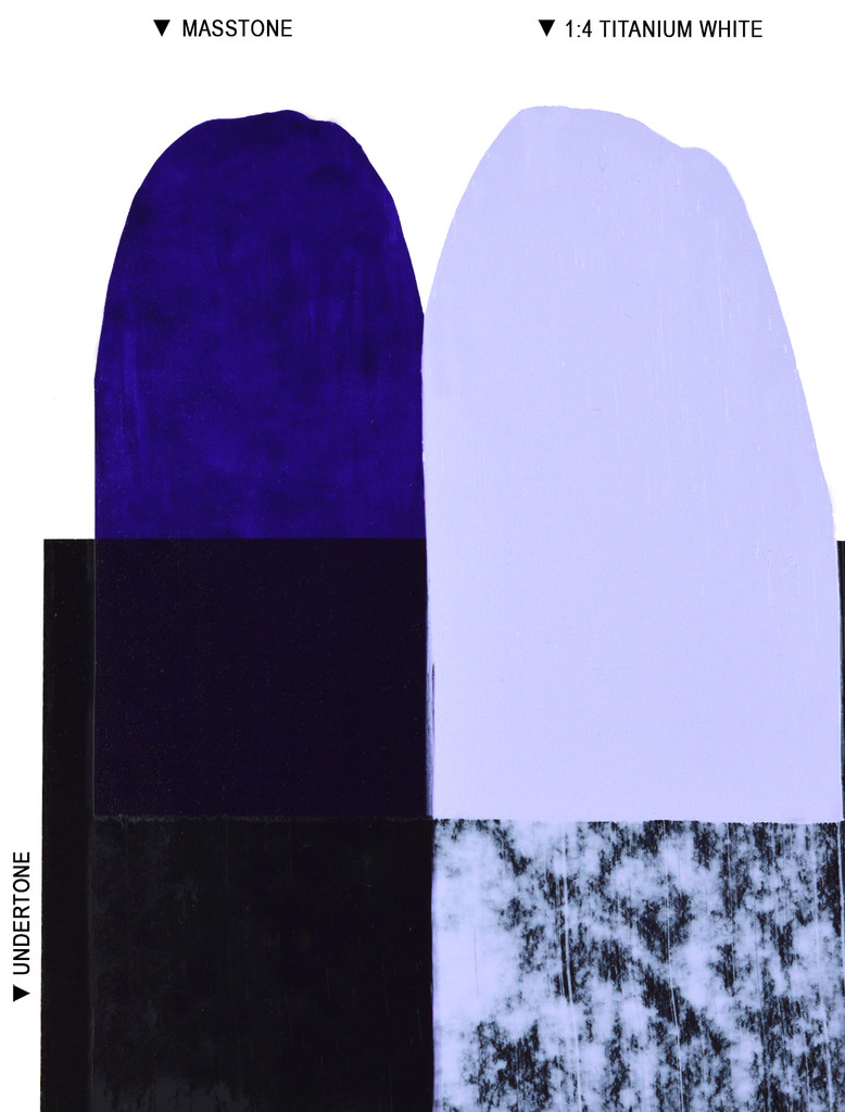 Langridge Ultramarine Violet Oil Colour