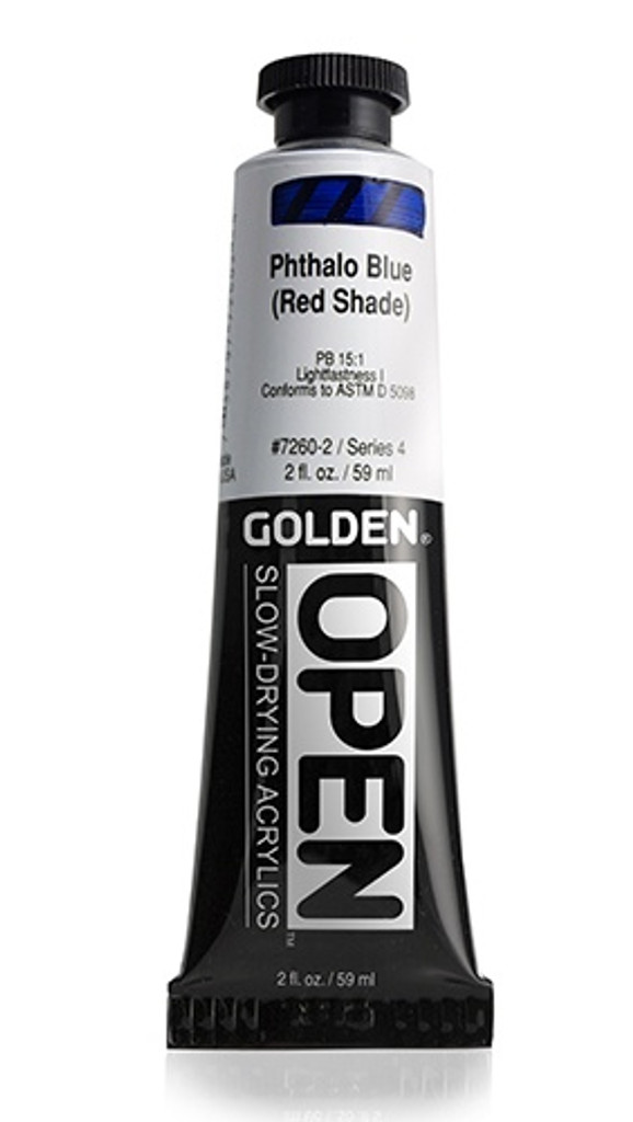 OPEN Phthalo Blue (Red Shade)