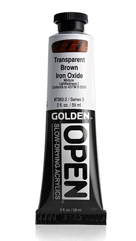 OPEN Transparent Brown Iron Oxide